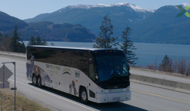 Whistler to YVR bus