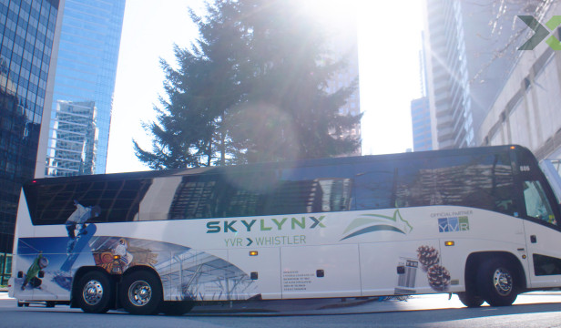 Travel from YVR to Whistler by Bus